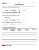 Group Work Self and Peer Evaluation Form