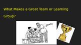 Group Work=Team Work: Instructional Presentation for Group Work