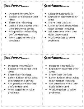 Group Work Thinking Stems