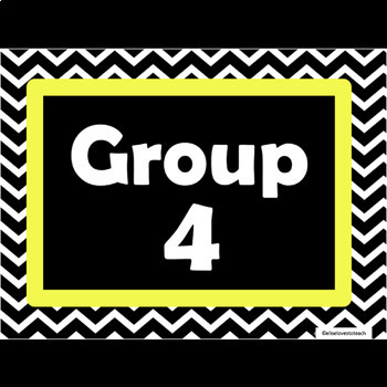 Group and Center Numbers