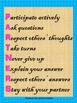 Group and Partner Work Acronym Posters for Classroom Management