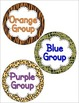 Group and Table Signs - Editable