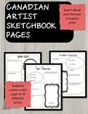 Group of 7 Canadian Art Sketchbooks