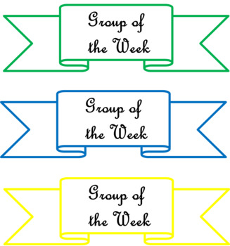 Group of the week