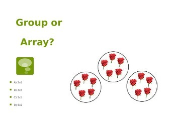 The OzE Teacher - Group or Array?