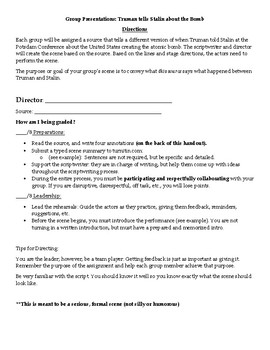 Cold War - Group Project