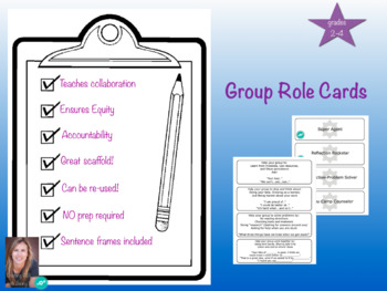Group role cards grades 2-4