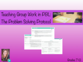Group work protocol for PBL: Problem solving protocol