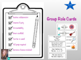 Group work role cards K-1