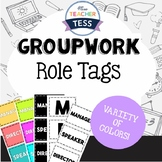 Group work role tags