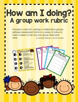 How am I doing?: Group work rubric