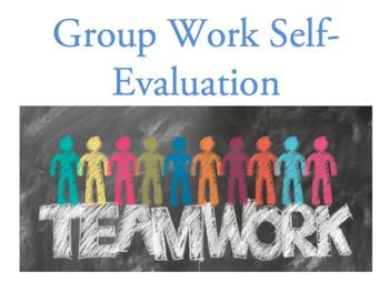 Group work self-evaluation