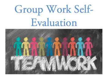 Group work self-evaluation