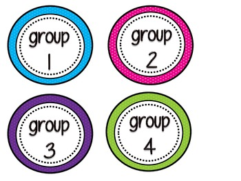Group/Table Labels