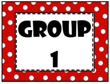 Group/Team Signs