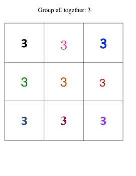Grouping By Numbers