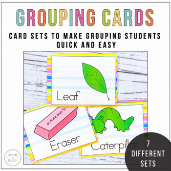 Grouping Cards