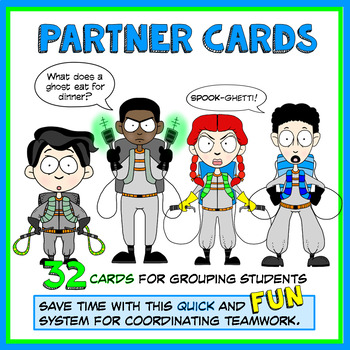 Grouping Cards for Cooperative Learning (32 cards)