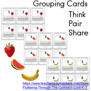Grouping Cards (48)  Think  Pair  Share