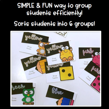 Grouping Cards: Create a Group