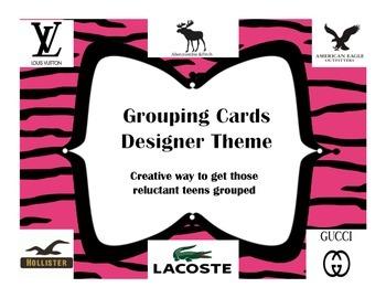 Grouping Cards Designer Theme