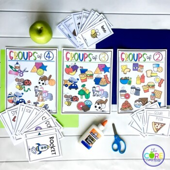 Grouping Cards- Group students quickly into groups of 2, 3, 4, 5, or more!