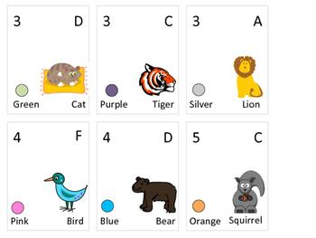 Grouping Cards, Original - set of 24
