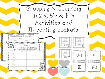 Grouping & Counting activities & IN {year2tastic}