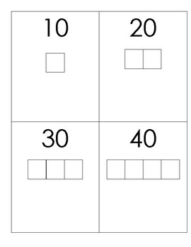 Grouping/Counting by tens cards