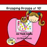 Grouping Groups of 10 (Valentine's)