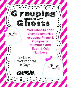 Grouping Numbers with Ghosts {Prime & Composite, Even & Odd}