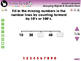 Number & Operations: Grouping Objects & Number Lines-Practice 3-NOTEBOOK Gr.PK-2