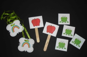Grouping Sticks and Necklaces for Partner or Cooperative Groups