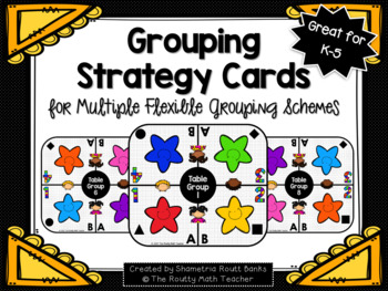 Grouping Strategy Cards for Multiple Flexible Grouping Schemes Pack