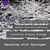 Grouping Strategy - Synonym Matching Activity