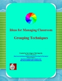 Grouping  Techniques for the Classroom