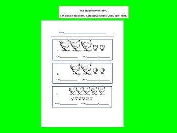 Grouping Tens and Ones PowerPoint with Student Worksheet
