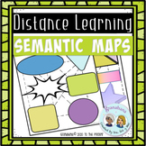 Grouping Words to Remember Them:  Semantic Maps Distance Learning