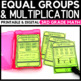 Grouping and Learning Multiplication Task Cards
