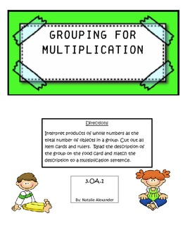 Grouping for Multiplication
