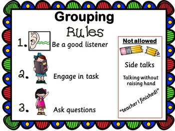 Grouping in Class (PowerPoint for your students)
