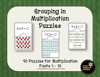 Grouping in Multiplication Puzzles