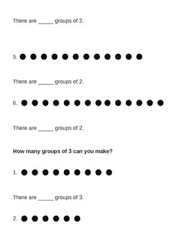 Groupings for Multiplication