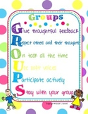 Groups Acronym Poster  (Group Rules and Guidelines on Work