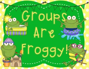 Groups Are Froggy