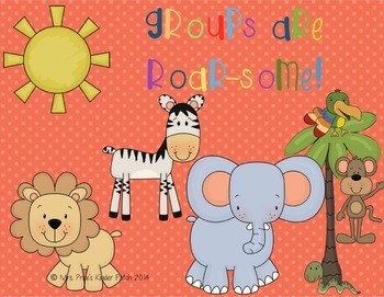 Groups Are Roar-some! (Polka Dots)