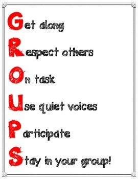 Groups Poster