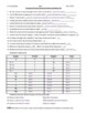 Groups and Periods Practice Worksheet