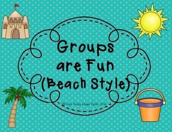 Groups are Fun--Beach Style