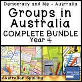 Groups in Australia Complete Bundle (Year 4 HASS)